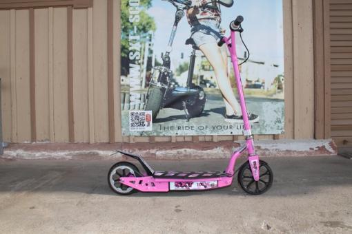 GEBRAUCHT - SXT100 pink Elektroscooter