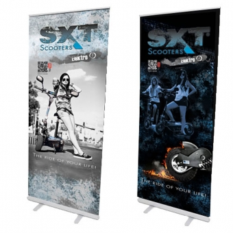 Rollup System Budget, 85,0 x 200,0 cm