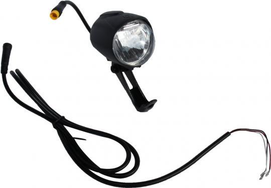 LED Vorderlicht, Frontlicht 12V schwarz