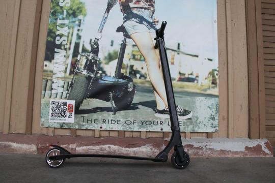 GEBRAUCHT - SXT Carbon V2 - schwarz - leichtester Escooter der Welt!