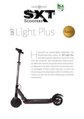 Werbeflyer DIN A5 (50er Pack) Motiv 19 (SXT Light Plus)