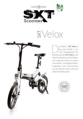 Werbeflyer DIN A5 (50er Pack) Motiv 35 (SXT Velox)