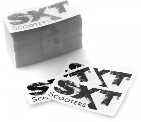 SXT-Scooters Aufkleber (250er Pack)