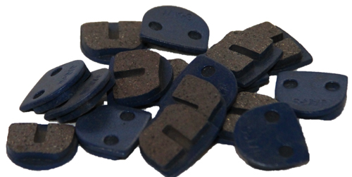 Square brake pads - Set (2 Pcs.) for one brake caliper