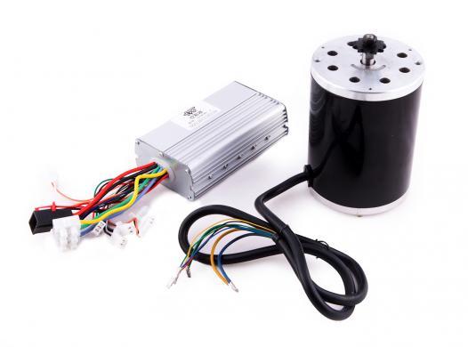 Tuning Kit 48V 1600W bürstenloser Motor inkl. Steuergerät