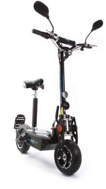 SXT500 EEC - Facelift (keine Helmpflicht!) schwarz | 36V 20 Ah LiFePo4 Lithium