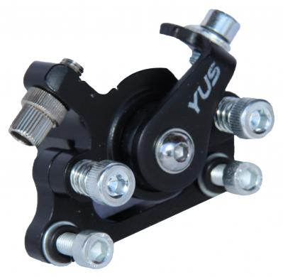 Brake caliper for front and rear axle