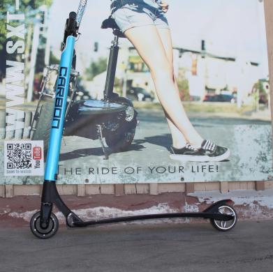 GEBRAUCHT - SXT Carbon V2 Blau- leichtester Escooter der Welt!