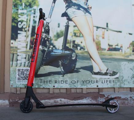 GEBRAUCHT - SXT Carbon V2 Rot- leichtester Escooter der Welt!