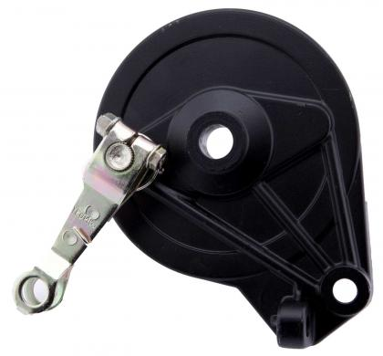 Drum brake for rear wheel