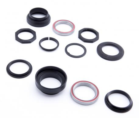 Steering head bearing set (11 pieces)