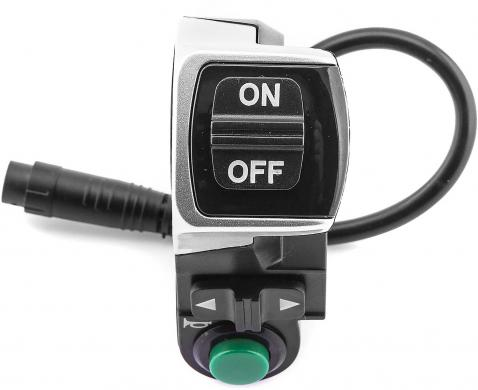 Combination switch (light, turn signal and horn)