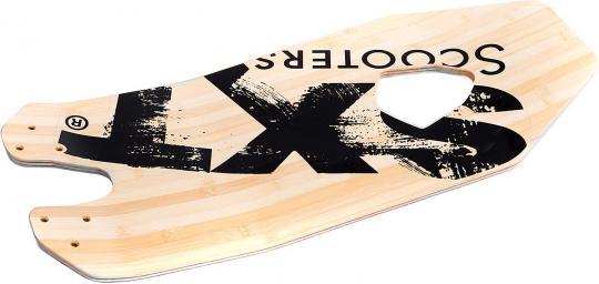 Footboard made of bamboo