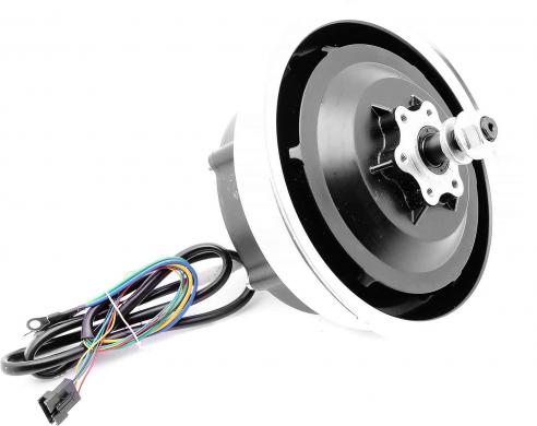 Brushless 48V / 800W hub motor with rim