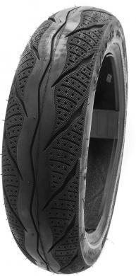 Reifen vorne mit Strassenprofil 90 / 90 - 12 ( H - 971 )
