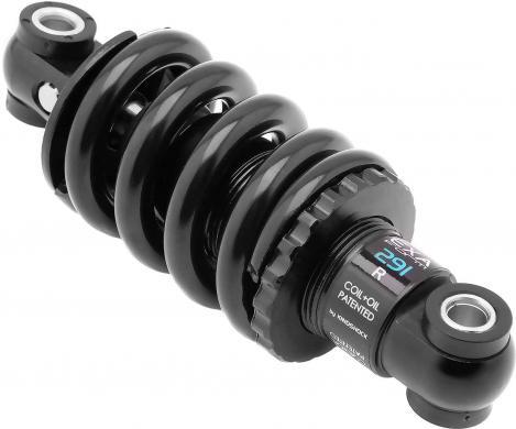 Hydraulic shock absorber, adjustable