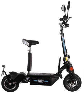 SXT1000 XL EEC - Facelift schwarz | 48V 12Ah Bleiakku