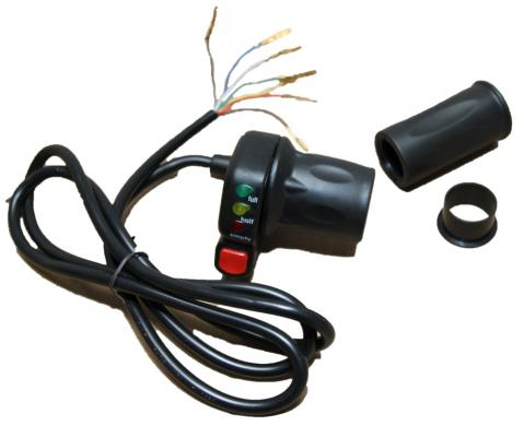 Throttle with wire 36V