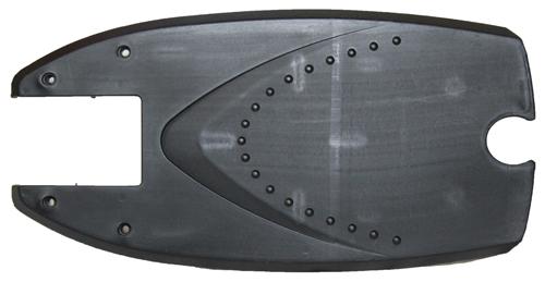 Footboard (plastic - black)