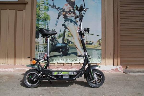 GEBRAUCHT - SXT H800 Elektro Scooter 36V 9Ah Bleigel Akku - schwarz