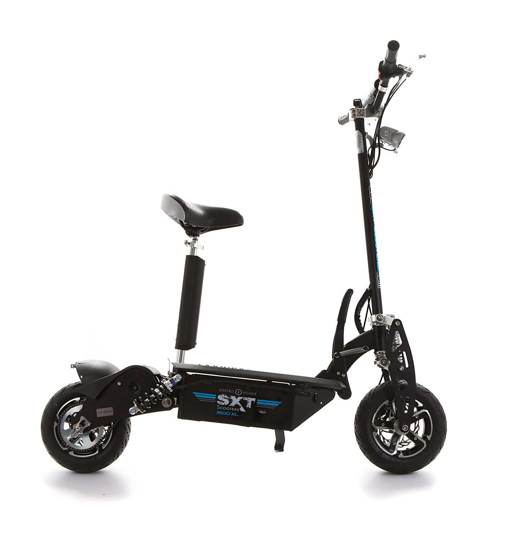 sxt your online escooter store sxt1600 xl electric scooter black 48v 20ah. Black Bedroom Furniture Sets. Home Design Ideas