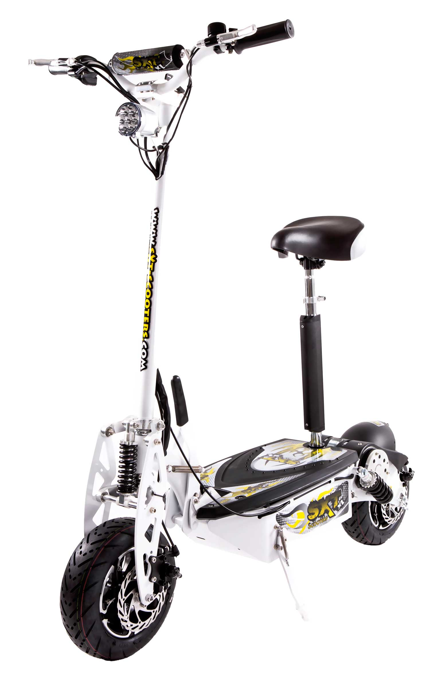 sxt your online escooter store sxt1600 xl electric scooter white 48v 20ah. Black Bedroom Furniture Sets. Home Design Ideas