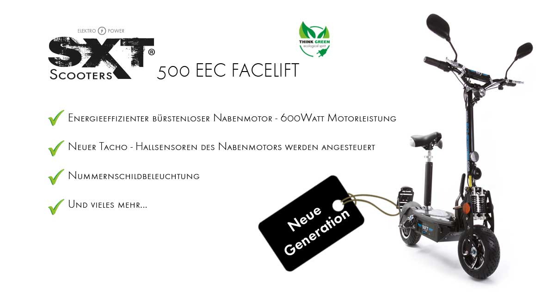 Banner SXT 500 EEC Facelift