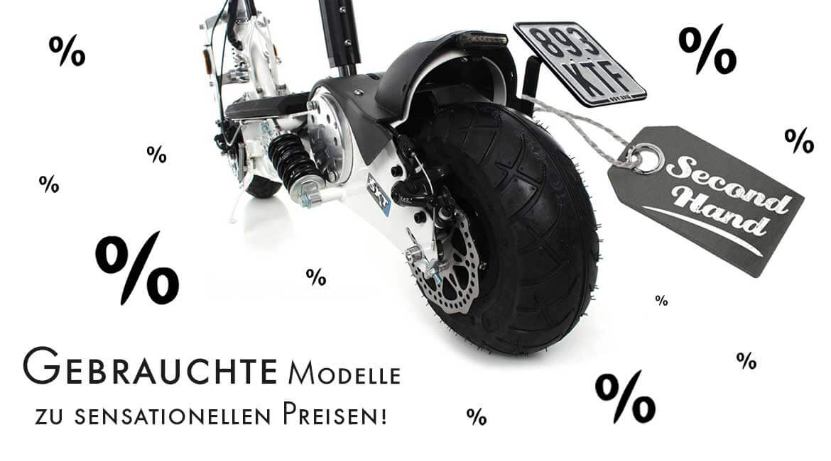 Banner Gebrauchte Scooter Second hand