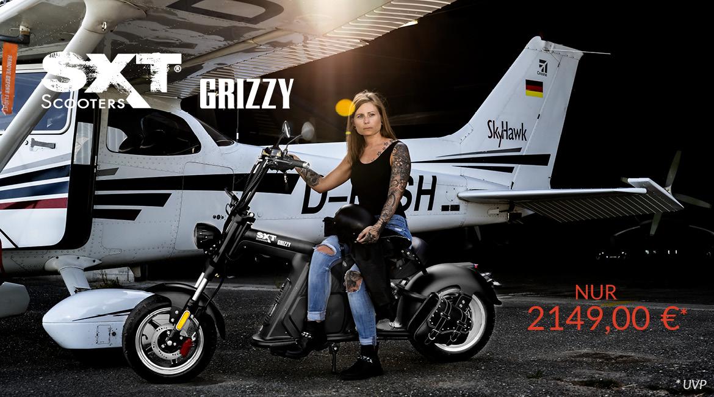 Banner SXT Grizzy