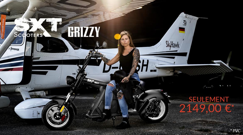 Banner SXT Grizzy Launch